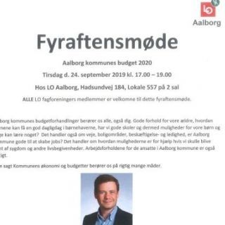 Thumbnail for Fyraftensmøde i september 2019